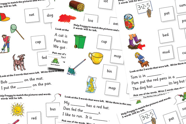 Marchs Extra Free Sheets Cvc Words
